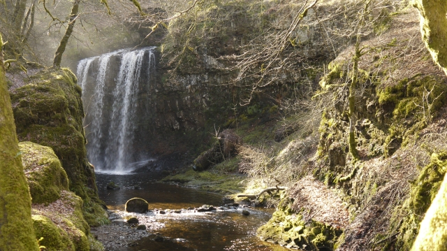 Dalcairney Waterfall